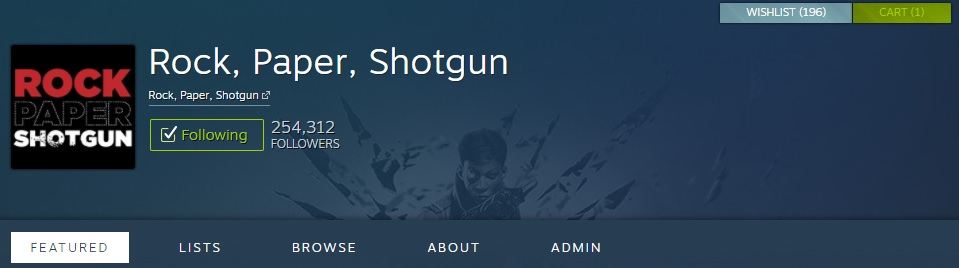 Preview of new Steam Curator Update