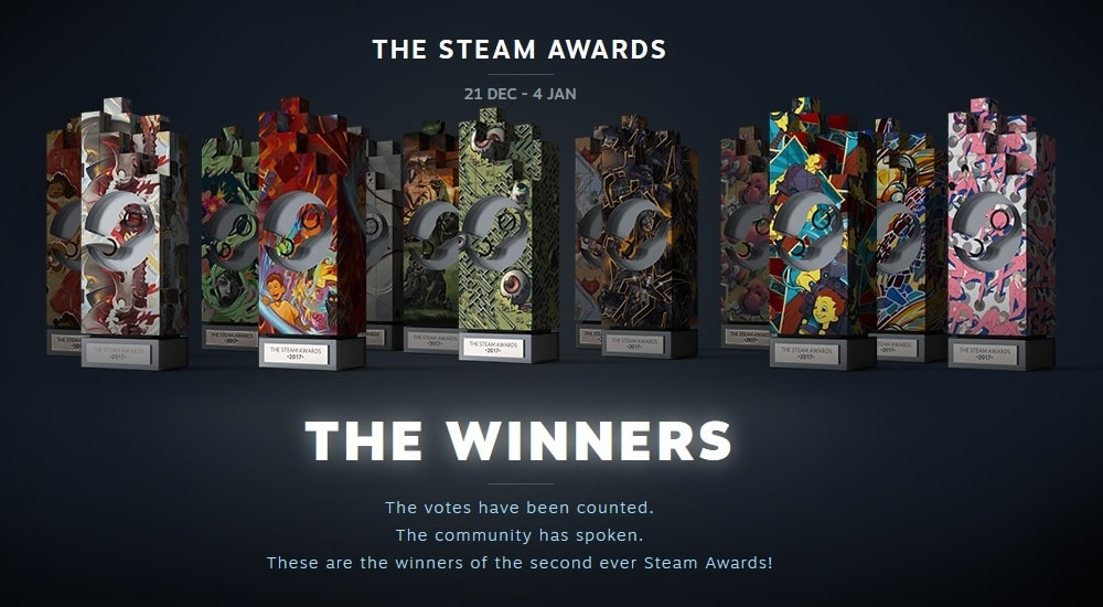 The Steam Awards 2017 (Part 2)